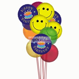 Giftblooms- Online Gifts Shop: Colorful Birthday Ballons